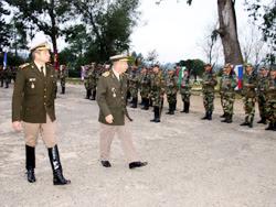 Se recordó el pasado lunes los 69 años de la Brigada de Caballería Nº 1