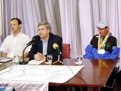 La Intendencia le tributó homenaje a Héctor Ferrón, es ciudadano ilustre