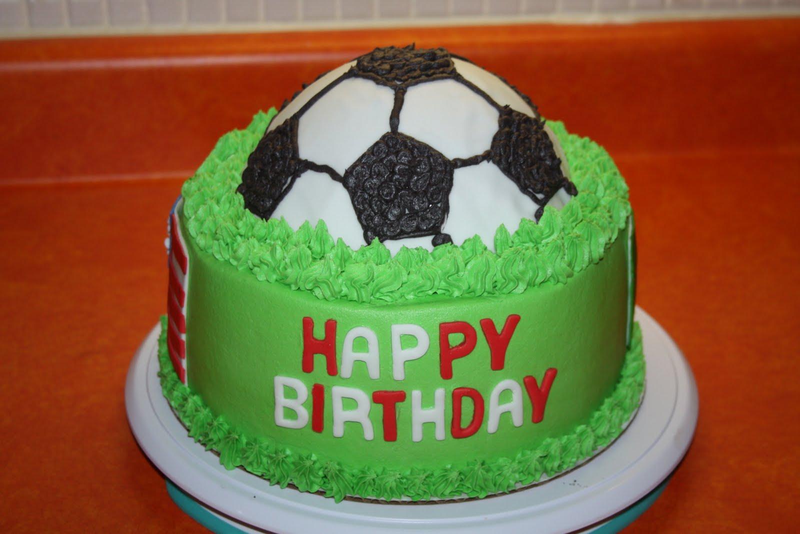 Images Of Soccer Ball Cake : Feliz cumpleanos pelota cuadrada
