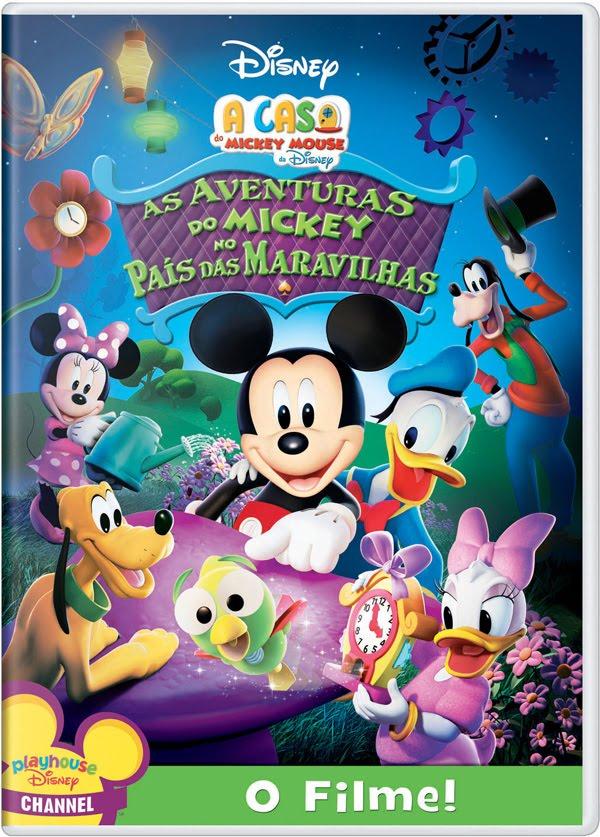 Baixar As aventuras do Mickey no País das Maravilhas – Dublado