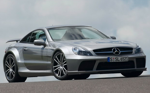 Mercedes-Benz SL 65 AMG Black