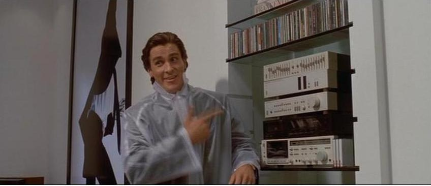 American Psycho Applied Movie References Magnificent American Psycho Quotes