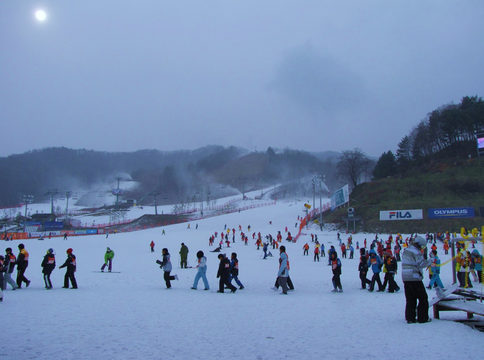 phoenix park ski adventure in south korea   the long and winding road