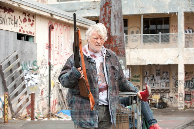 rutger hauer as hobo with a shotgun