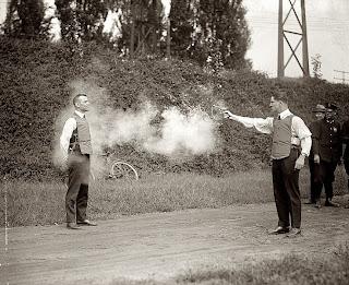 vintage bulletproof vest test