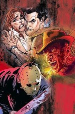 Cover da HQ Freddy X Jason X Ash