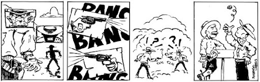 tirinha webcomic western faroeste