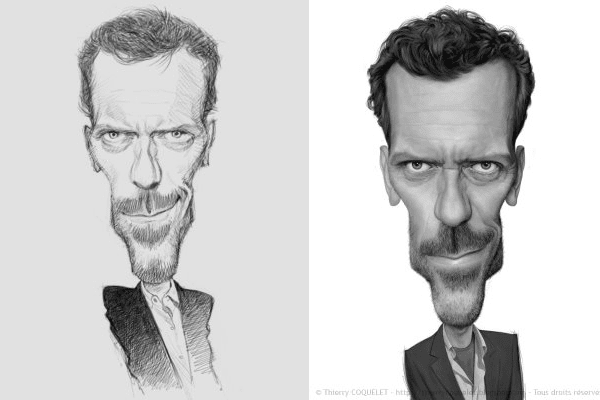 Dr. House - Hugh Laurie - Les Utopies Parallèles
