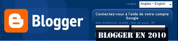 Blogger 2010