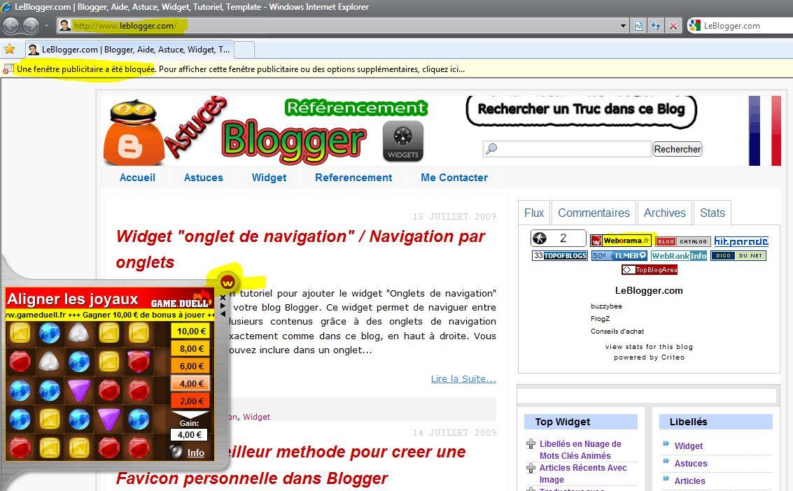 Publicité Weborama