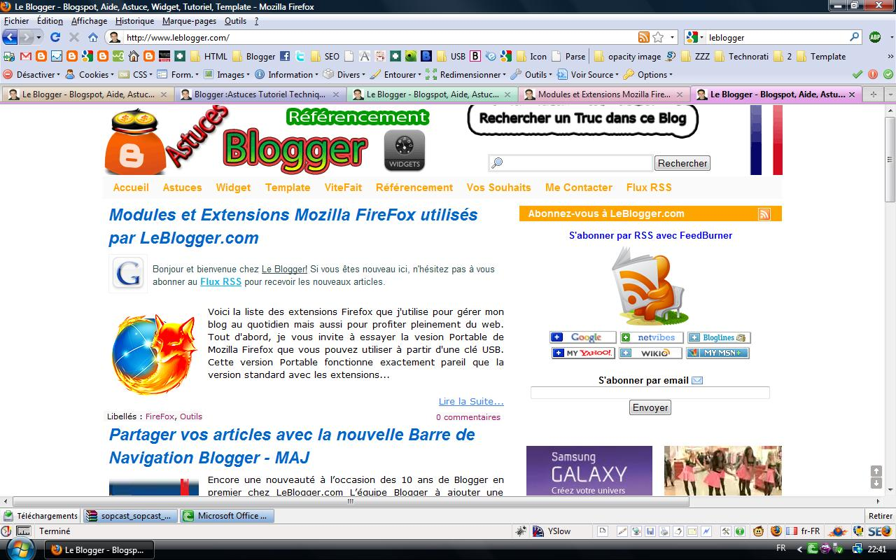 Fxtension Firefox
