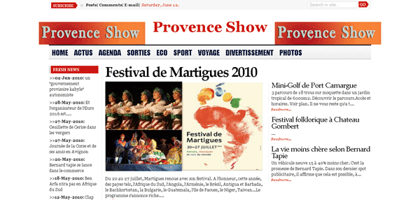 Provence-SHow