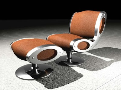 Gluon Chair Design by Marc Newson 2