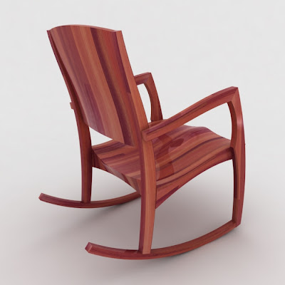 Rocking Chair Design Concept by Jarrah