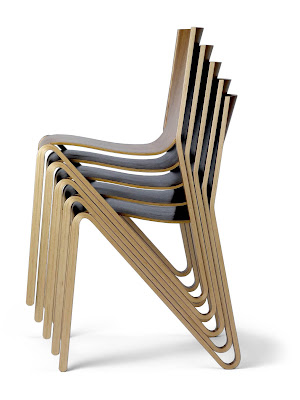 Light & Stackable Chair By o4i