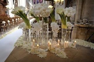 eva longorias wedding flowers