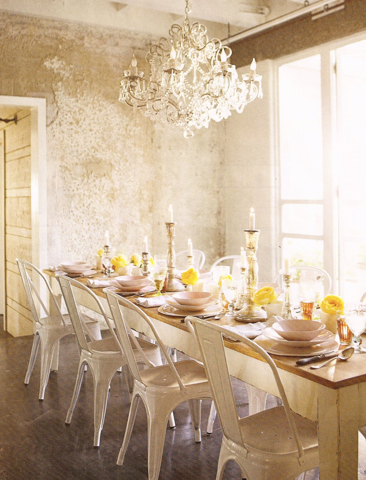 Marsha harris scott splenderosa alexander mcqueen for The dining room leigh
