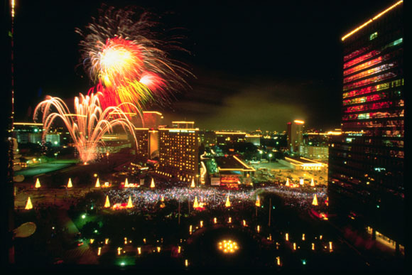 Greet the holidays with cheer and fireworks on Thanksgiving Night