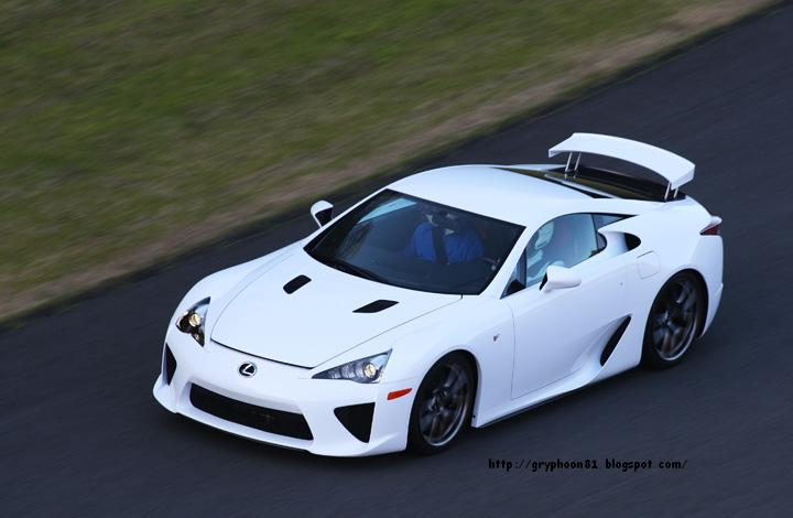 Toyota Can Have Poured All Of The Technology, Hopes And Dreams, Created As  A Super Sports Car Lexus LFA Desire To Continue To Provide The Prototype Car  Was ...