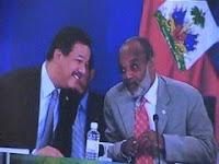 LOS PRESIDENTES DE HAITI Y REPUBLICA DOMINICANA