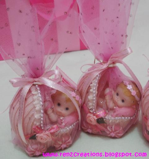 Pin baptismal souvenirs giveaways philippines ajilbabcom portal cake on pinterest - Giveaways baptism ...