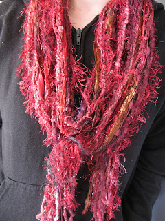 No Knit Scarf Patterns : Jen Aburrow: no knit scarves....
