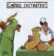 David Caruso Castrated!
