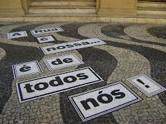 A rúa é nossa...