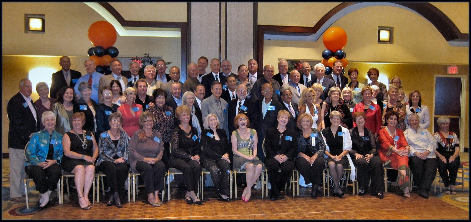 My 50th high school reunion in los angeles 9 25 2010 one american