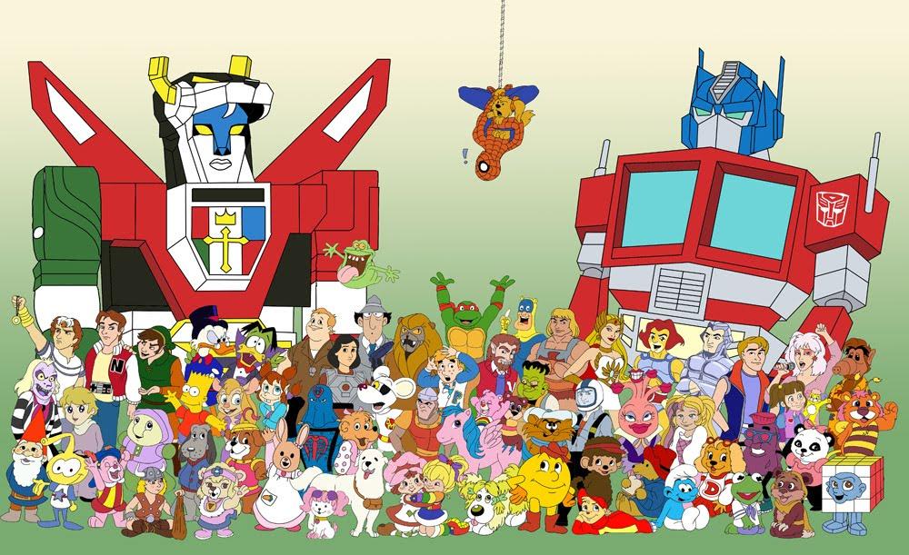 British Cartoon Characters 80 S : Cartoon and horror fan art friday celtzombie