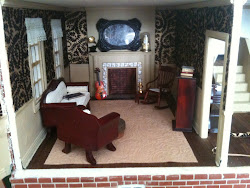 The redecorated parlor