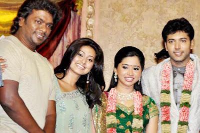 Tamil Actor Jeyam Ravi Wedding Reception PhotosTamil Aarati Marriage Album