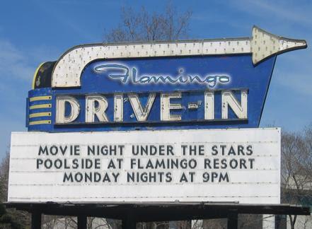 Watch movies on a large cinema