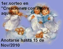 SORTEO EN CREACIONES CON ESTO Y AQUELLO
