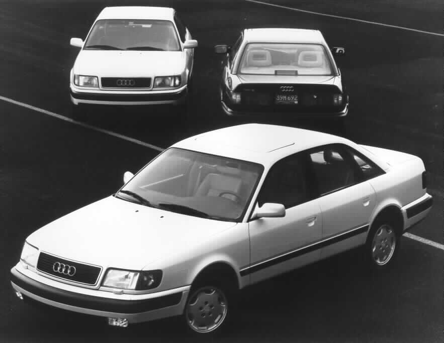 automotive ad builder blog 1992 audi 100 model line up history rh automotiveadbuilder blogspot com 1990 Audi 200 1994 Audi 100
