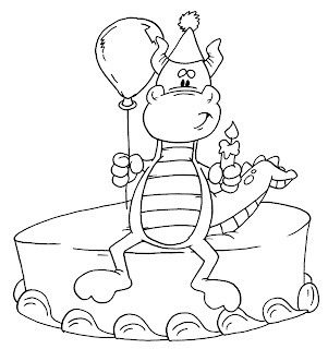 dudley the dragon coloring pages - photo#40