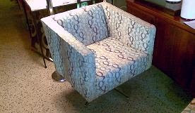 set of swivel chairs at white glove antiques