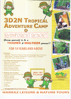 3D2N TROPICAL ADVENTURE CAMP