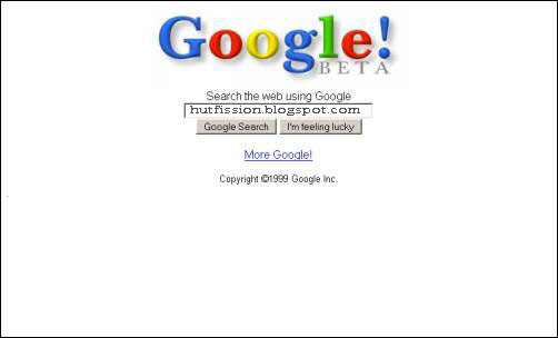 Here's Google's Homepage 1999 vs. 2012. Can You Tell The ...