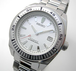 Sold: Seiko Samurai White