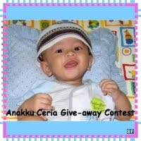 Anakku Ceria Give-Away Contest