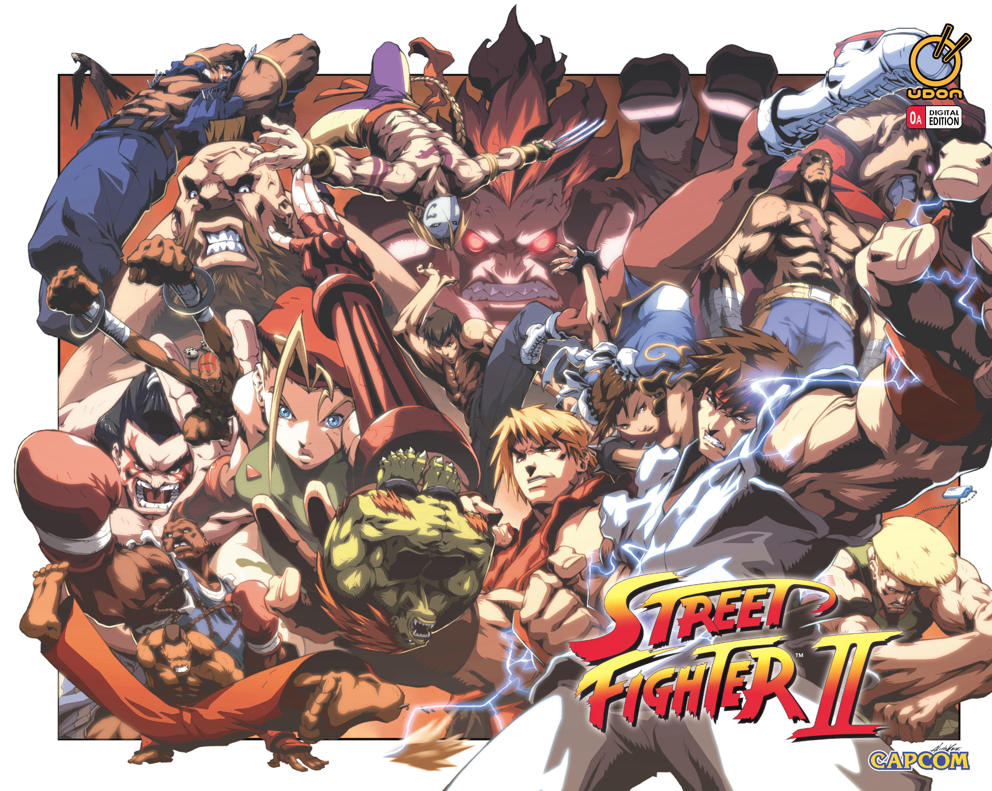 Street Fighter II chap 0 pic 2