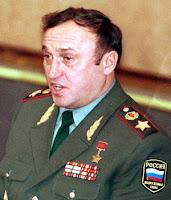 Former Russian Defense Minister Pavel Grachev