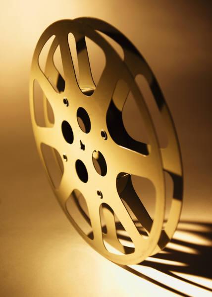 movie projector sound clip