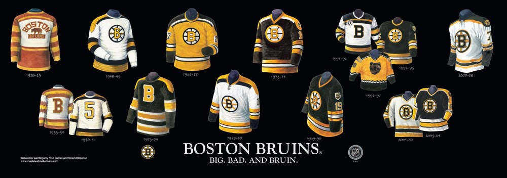 Heritage Uniforms and Jerseys: Boston Bruins - Franchise, Team ...