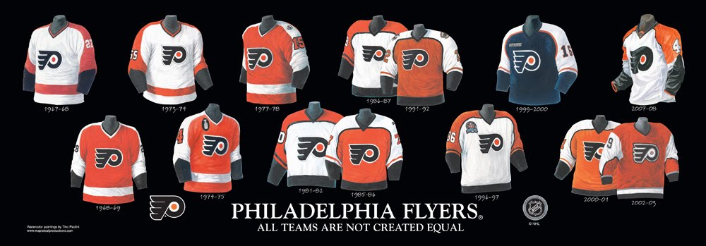 Heritage Uniforms and Jerseys: PHILADELPHIA FLYERS - Franchise, Team ...