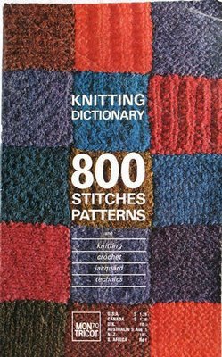 CROCHET DICTIONARY KNITTING KNITTING MON PATTERN STITCH TRICOT Crochet Patt...