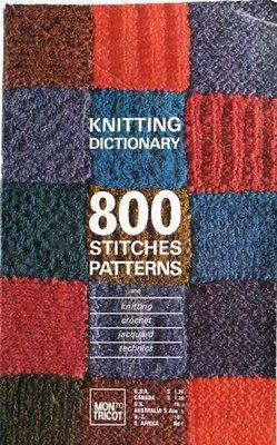 Knitting Stitch Pattern Dictionary : CROCHET DICTIONARY KNITTING KNITTING MON PATTERN STITCH TRICOT Crochet Patt...