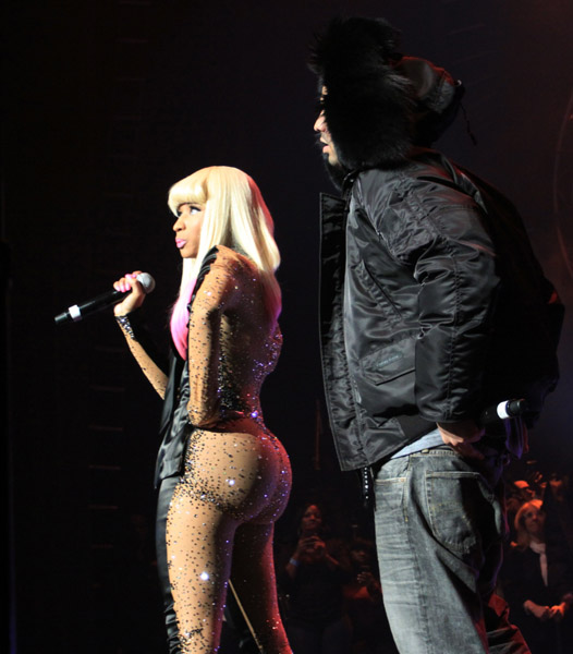 nicki minaj bum implants before and. nicki minaj implants. think
