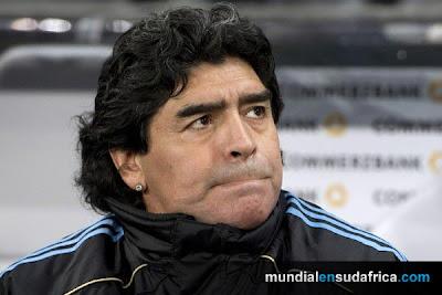 Argentina 1 vs Alemania 0, Diego Maradona